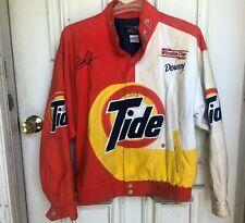 Vintage Winston Cup Series Nascar Ricky Rudd Tide Racing Jacket Rare Sz Medium