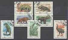 Timbres Préhistoire Madagascar 1338/44 o lot 3861