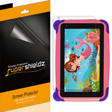 3X SuperShieldz Clear Screen Protector Saver for Contixo Kids Tablet K4 7 inch