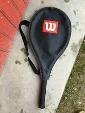 Vintage ancienne raquette tennis WILSON EUROPA PRO + housse tennis racket
