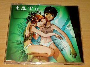 TATU ALL THE THINGS SHE SAID CD 2002.