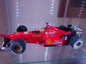 1/12 Eddie Irvine 1996 Ferrari ( SLIGHT FLAW & NO BOX )