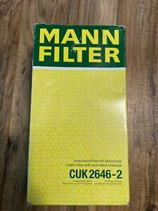 Mercedes Carbon Activated Cabin Air Filter Set  164 830 02 18 MANN CUK2646-2