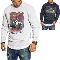 Jack & Jones Herren Sweatshirt Pullover mit Rundhalsausschnitt Herrenpullover