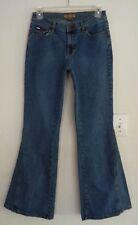 TOMMY JEANS VINTAGE Bell Bottom FLARE Jeans Size 7 STRETCH 28 x 30.5 NICE!!