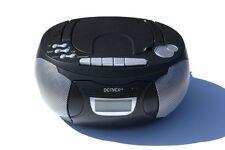 Kassettenrecorder Schwarz CD Player Kassettenrekorder Denver TCP38