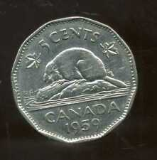 CANADA 5 cents  1959