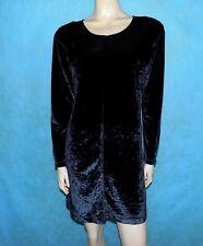 robe vintage SONIA RYKIEL velours ras noir Taille : 38 / 40  EXCELLENT ETAT