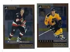 JOE THORNTON BOSTON BRUINS 1997-98 PINNACLE BEEHIVE 5X7 ROOKIE GOLD #51