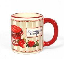 """Mug  Les confitures du verger """" Les fraises """""""
