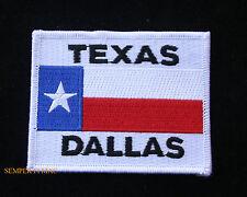 TEXAS STATE FLAG HAT PATCH TX ALAMO DALLAS AUSTIN HOUSTON USA PIN UP EL PASO WOW