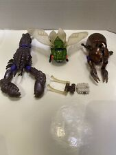 Transformers Beast Wars Tripredacus Parts Lot Ram Horn Seaclamp Cicadacon