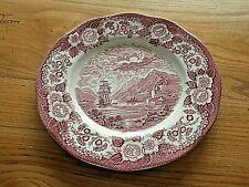 WEDGWOOD Scottish Lochs Assiette plate  rouge