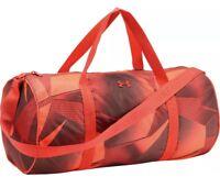 Under Armour Favorite 2.0 Womens Training Duffle Bag- Black & Orange Brand New!!