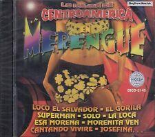 Hermanos Flores La Maquina Lo Mejor De Centroamerica en Merengue CD New Sealed
