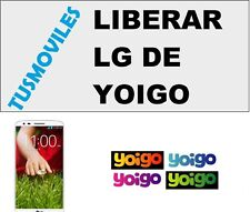 Liberar LG Yoigo L7 L7 4G L9 Optimus P350 Me Mini GD880 Nexus 5 Optimus 3d A170