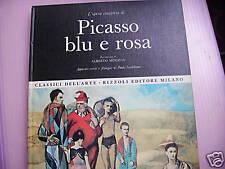 PICASSO BLU E ROSA - opera completa Rizzoli 1968
