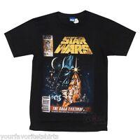 Star Wars The Saga Continues Licensed Adult T Shirt