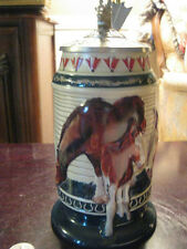 "2000 ANHEUSER BUSCH  MEMBERS ONLY  STEIN  ""BORN TO GREATNESS"""