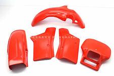 5 Pc Plastic Body Kit Honda 83-84 XR350R Front Rear Fenders Panels Shroud #R44