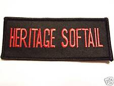 #0457 MOTORCYCLE VEST PATCH HERITAGE SOFTAIL