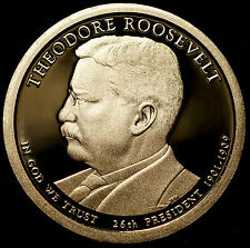 2013 S Theodore Roosevelt Presidential Mint Proof Dollar from U.S. Proof Set