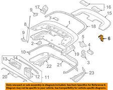 AUDI OEM 03-09 A4 Convertible/soft Top-Locator Left 8H0825435