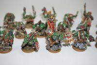 Warhammer 40k Space Orks - Ork Boyz x 16 - LOT 182 Painted & Based