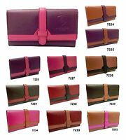 Ladies Genuine Leather Wallet Designer J Wilson Women Quality Clutch Purse Card