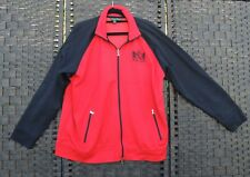 RALPH LAUREN Black Red Ladies Leisure Jacket Track Suit Top 2X 18