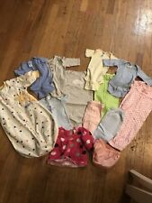 Girls Newborn 0/3 Months Clothes Lot