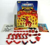 Very Bad Box Vintage He Man 1985 MOTU Modulok Masters Of The Universe Evil Horde