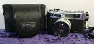 Yashica Electro 35 GS Range Finder FILM CAMERA 45mm F1.7 Lens w/ Original Case