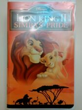 The Lion King II: Simba's Pride (VHS, 1998) Sealed / Unopened
