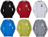 AERO Aeropostale Men Long Sleeve A87 NYC Graphic T Shirt Tee XS,S,M,L,XL,2XL,3XL