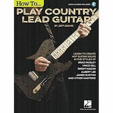 Jeff Adams: How to Play Country Lead Guitar by Jeff Adams (Paperback, 2015)