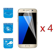 4 x Screen Cover Guard Shield Film Foil For Samsung Galaxy S7 Front Protector