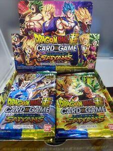Dragon Ball Super Assault of The Saiyans BOOSTER PACKS - READ DESCRIPTION