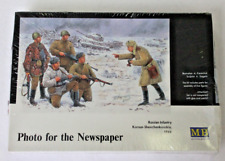 Master Box WWII Soviet Soldiers, Photo for the Newspaper Figures in 1/35 3529 ST