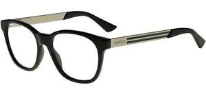 Lunettes de Vue Gucci GG0690O Black 52/18/150 homme
