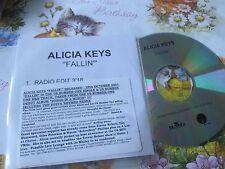 Alicia Keys – Fallin' Label: J Records  CDr,  UK Promo CD Single