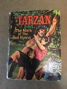 Tarzan..The Mark of the Red Hyena..1957 Big/Little Book..Edgar Rice Burroughs !!