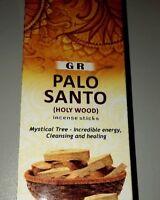 Palo Santo Incense Brand G R Holy Wood Incense Sticks 120 Total Mystical Tree
