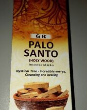 Palo Santo Incense Brand G R Holy Wood Incense Sticks 120 Total Mystical Tree