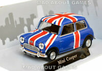 MINI COOPER 1:43 Car Model Die Cast Metal Cars Miniature UNION JACK FLAG