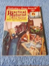 Vintage Practical Motorist & Motor Cyclist Magazine March 1957
