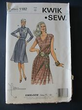 Kwik Sew Pattern 1182 Misses Skirt & Top for Stretch Knits in Szs 6 to 12 Uncut