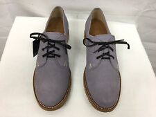 Ariat casual lace up Suede shoe, men sz 10, light purple NWT