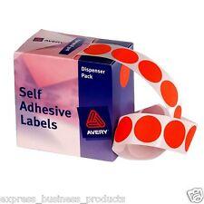 Red Dot Avery Dispenser Pack 24mm Box of 500 - AD937243