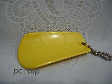 Porte clés Tupperware (keychain) Chausse pied jaune clair